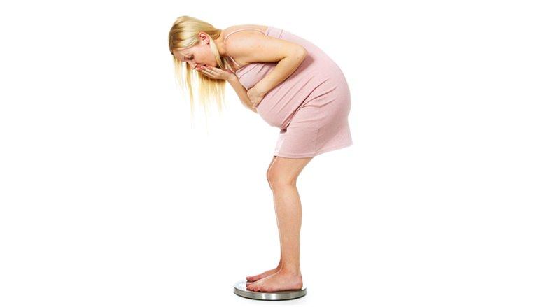 Humbni peshë gjatë shtatzënisë