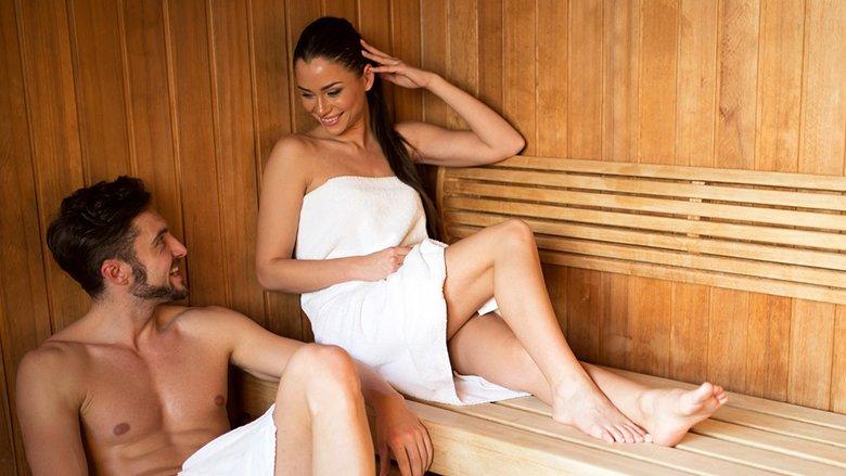 espace esthétique sauna au Grand Hôtel des Bains à Fouras