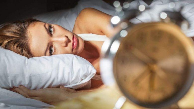 Nëntë pasojat e një gjumi të parregullt