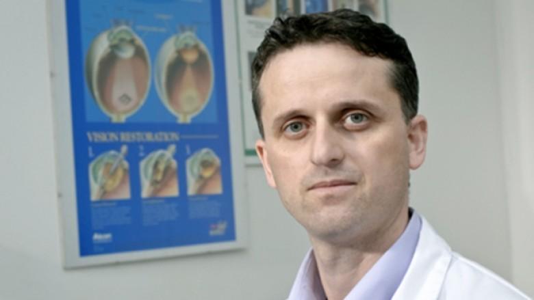 Ass. dr. Afrim Shabani, mr.sci. oftalmolog