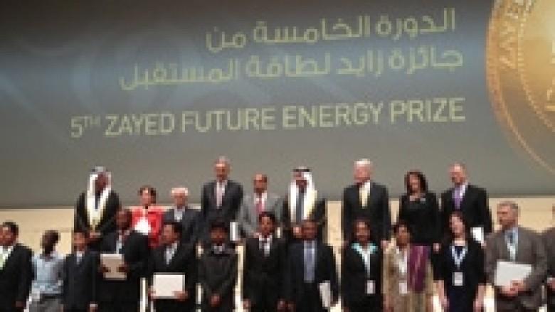 """Jahjaga në ndarjen e çmimeve """"Zayed future energy prize"""""""