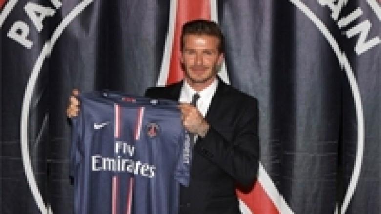Beckham do ta dhurojë rrogën e PSG-së për bamirësi