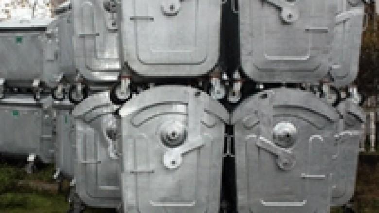 MMPH shpërndan 3000 kontejnerë për mbeturina