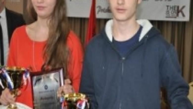 Afrim Latifi, Orges Arifi dhe Fortesa Orana, më të mirët e 2012-ës