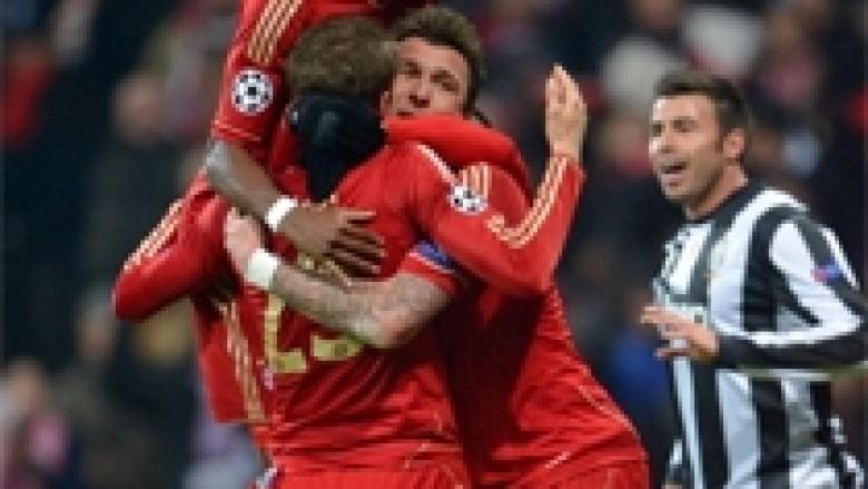 Bayerni me një këmbë në gjysmëfinale