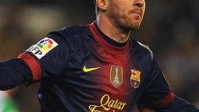 Nuk ndalet Messi, fiton Barca