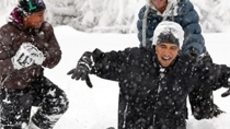 Obama, argëtues dhe i afërt (Foto)