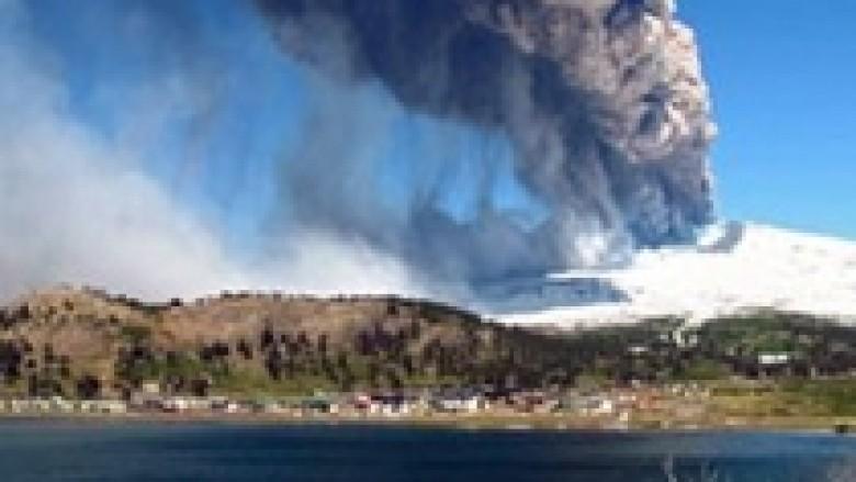 Kili dhe Argjentinë, frikë nga vullkani