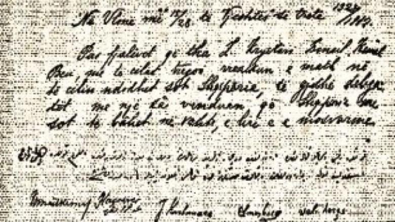 I pacensuruar: Dokumenti i Pavarësisë së Shqipërisë, siç nuk e keni parë (Foto)