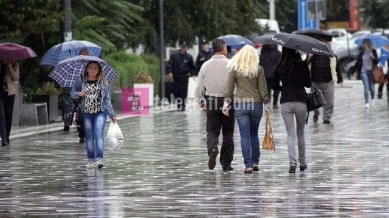Maqedoni, të shtunën rikthehen reshjet e shiut