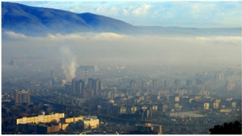 Ndotje e lartë e ajrit në Shkup