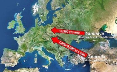 Rezultate befasuese të një studimi: Evropa moderne është formuar nga rusët e lashtë!
