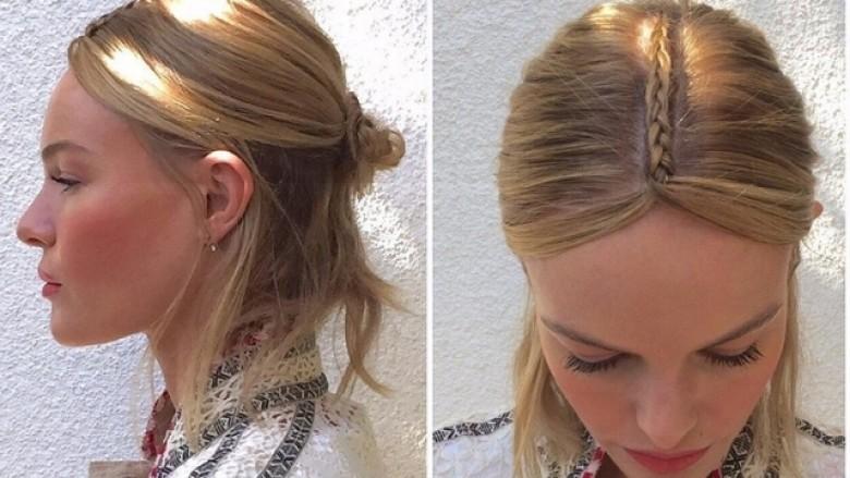 Si të realizoni modelin e flokëve të Kate Bosworth