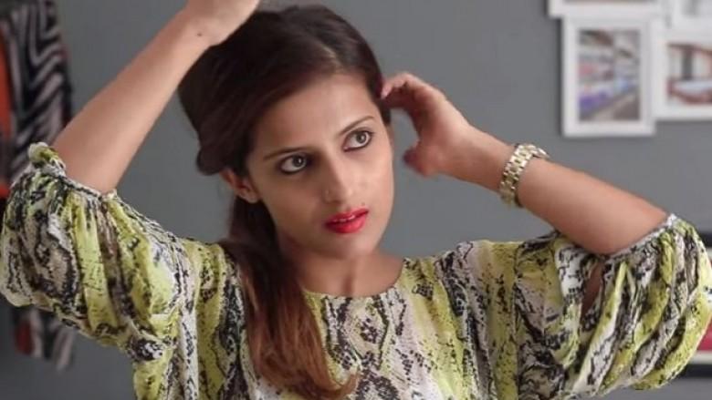 Tri frizura të thjeshta dhe të shpejta për mbulimin e flokëve të yndyrta (Video)