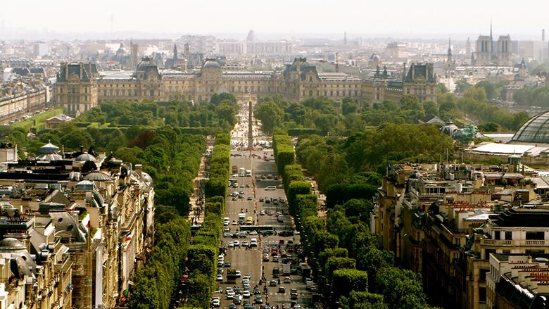 Avenye des Champs-Élysees