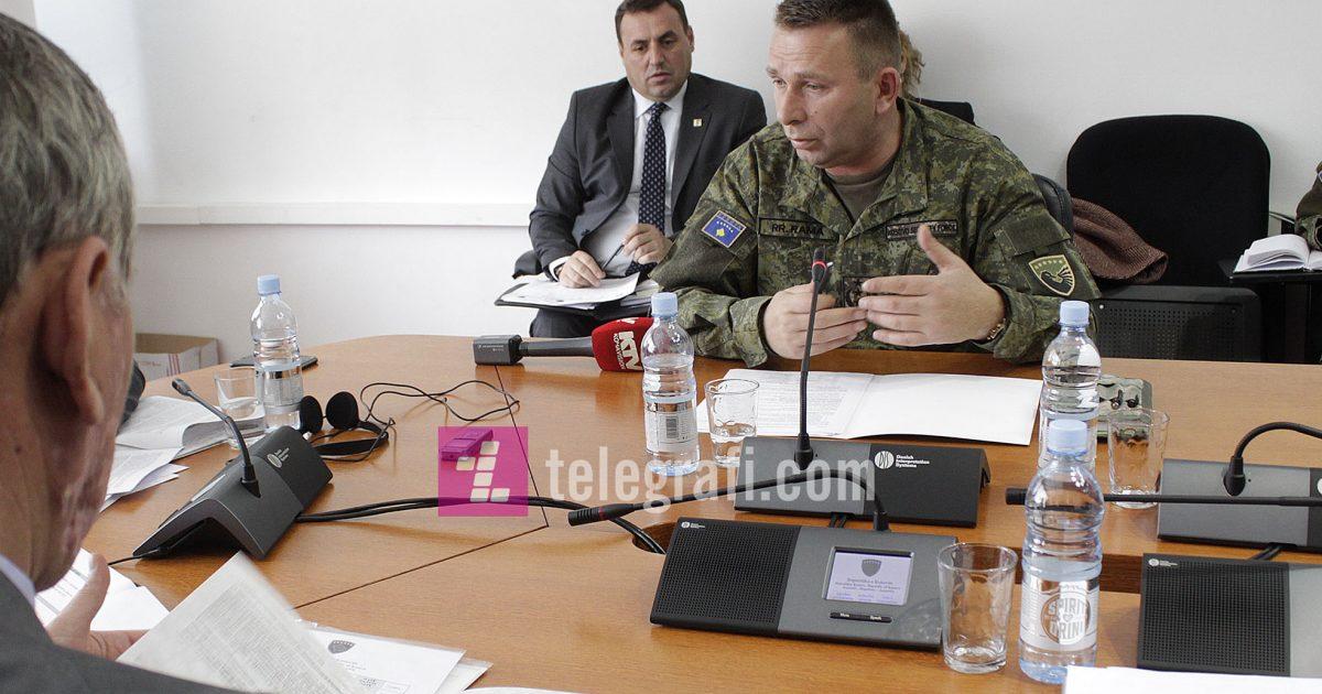 Komandanti i FSK-së sot raporton para Komisionit për Punë të Brendshme