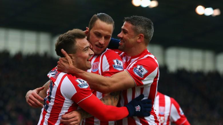 Shaqiri i sjell fitoren Stoke, goli i javës? (Video)