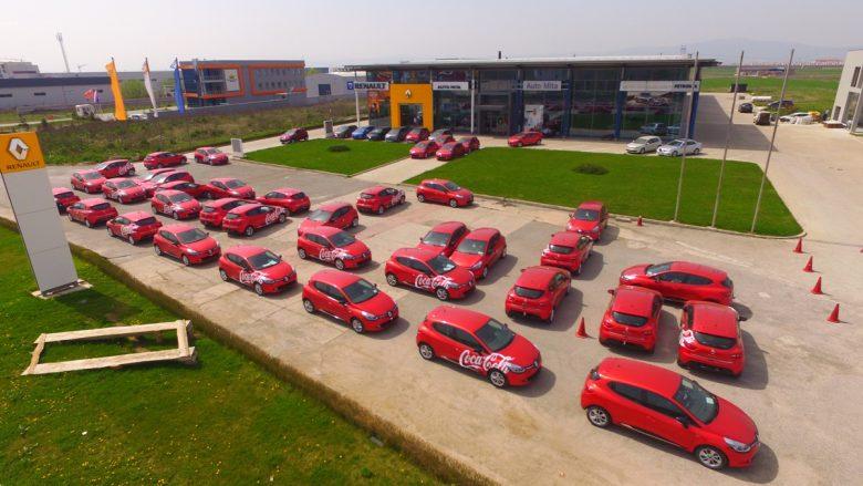 Coca-Cola Hellenic Kosova zgjedh Renault Clio si veturën e saj operacionale (Foto/Video)