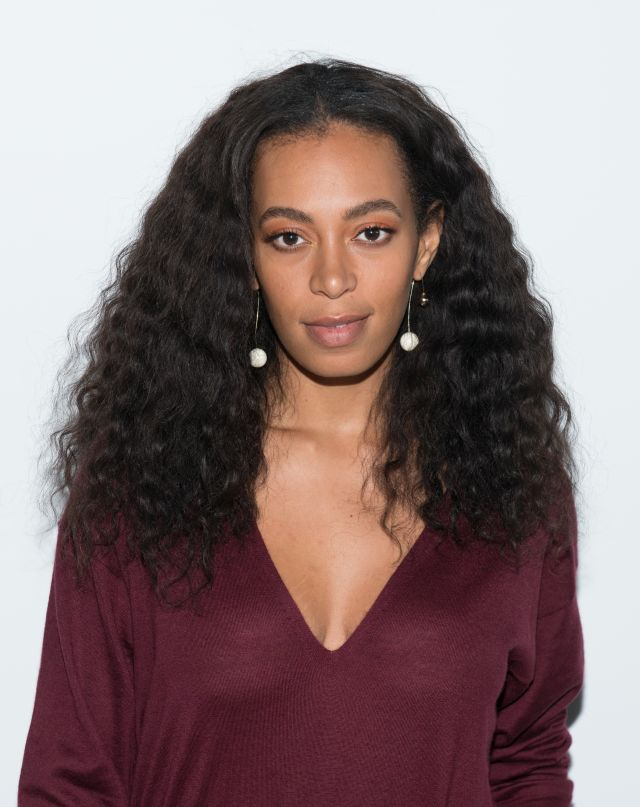 NEW YORK, NY - FEBRUARY 13: Singer Solange Knowles attends the Tibi fashion show during Fall 2016 New York Fashion Week on February 13, 2016 in New York City. (Photo by Noam Galai/Getty Images)
