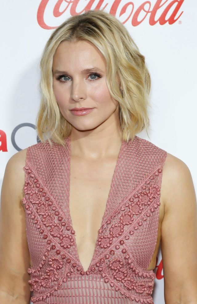 14 April 2016 - Las Vegas, Nevada - Kristen Bell. 2016 CinemaCon Big Screen Achievement Awards at The Colosseum of Caesars Palace. Photo Credit: MJT/AdMedia *** Please Use Credit from Credit Field ***, Image: 281621640, License: Rights-managed, Restrictions: *** France OUT ***, Model Release: no, Credit line: Profimedia, SIPA USA