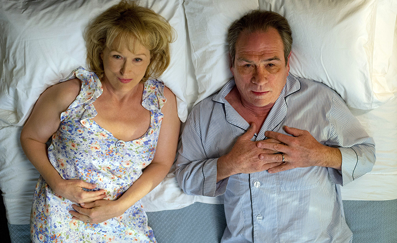 HOPE SPRINGS, from left: Meryl Streep, Tommy Lee Jones, 2012. Ph: Barry Wetcher/©Columbia Pictures/Courtesy Everett Collection