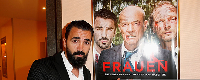 the Munich premiere of the film 'Frauen' at Sendlinger Tor Kino on April 25, 2016 in Munich, Germany.
