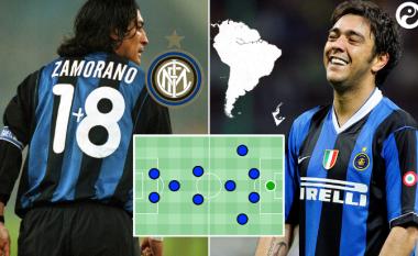 Ky është formacioni më i mirë i kombinuar i Interit me lojtarët jug-amerikan (Foto)