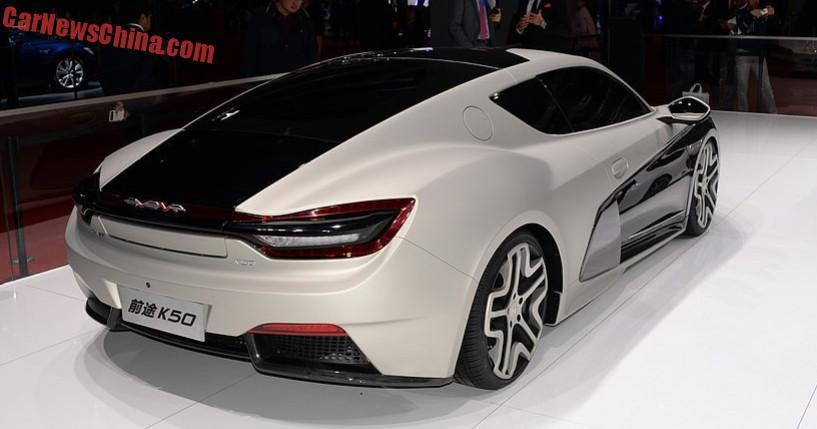 Qiantu K50 Event eshte makina e pare elektrike nga Kina foto 6