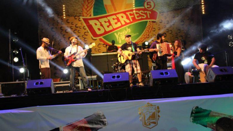 """Beer Fest Kosova 2016 pret qytetaret ne sheshin """"Zahir Pajaziti"""""""