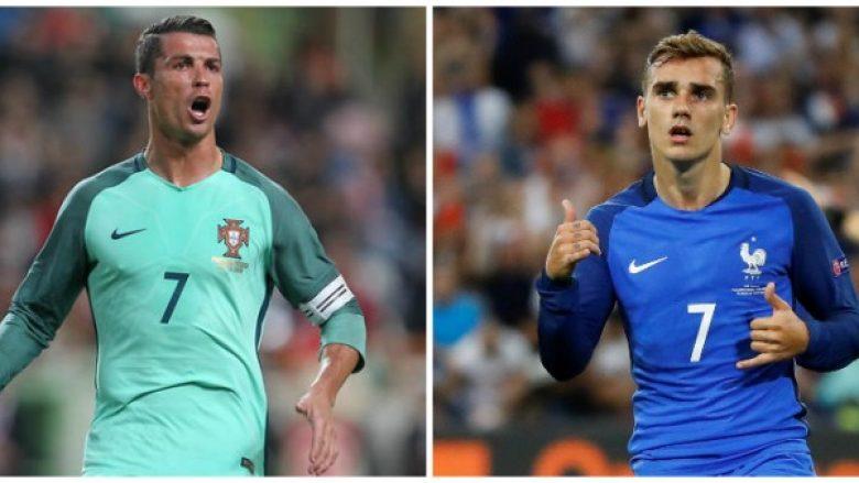 Ronaldo dhe Griezmann nuk marrin pjesë në ceremoninë e Topit të Artë?