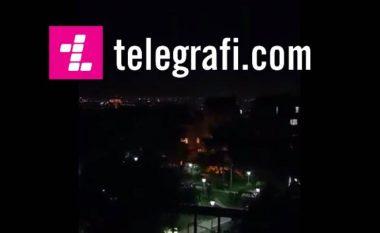 Pamje ekskluzive nga Stambolli: Plumbat fluturojnë në qiell (Video)