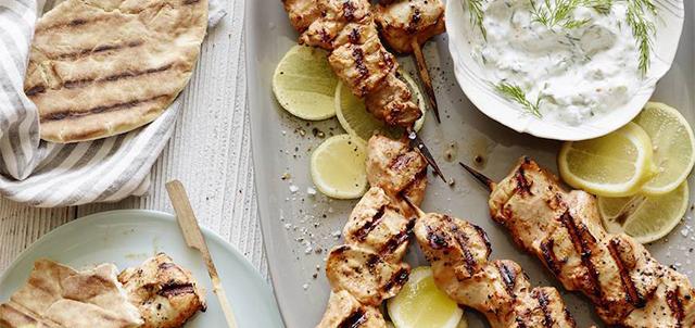Grilled-Chicken-Skewers