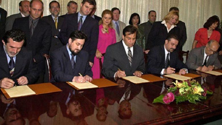 Sot para 17 viteve u nënshkrua Marrëveshja e Ohrit