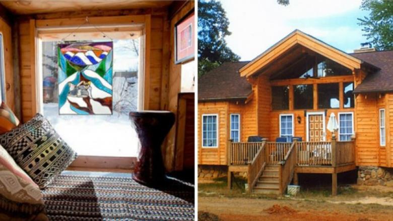 Si ta ndërtoni shtëpinë e ëndrrave vetëm me paleta të drurit?