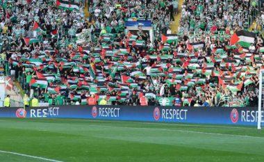 Celticu akuzohet nga UEFA pas shpalosjes së flamujve palestinezë