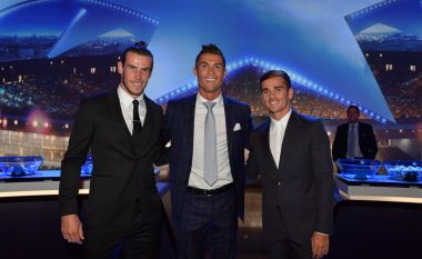 Ronaldo zgjidhet futbollisti më i mirë në Evropë