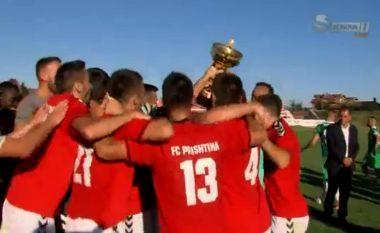 Prishtina fiton SuperKupën e Kosovës (Video)