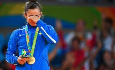 Reagon Kuka ndaj akuzave për doping që po i bëhen Majlinda Kelmendit (Foto)