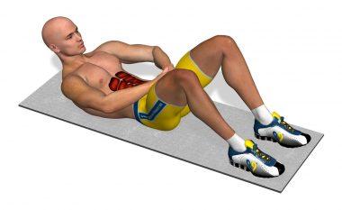 Bëni këto 15 ushtrime të muskujve të barkut në ditë dhe vetëm për 7 ditë do të keni muskuj në formë pllakëzash! (Video)