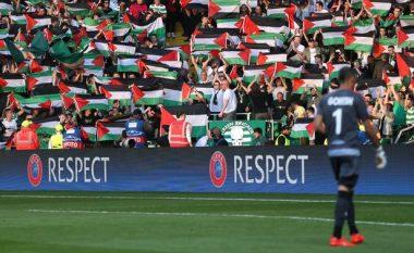 Celtic luan me skuadrën nga Izraeli, tifozët mbushin stadiumin me flamuj të Palestinës (Foto/Video)