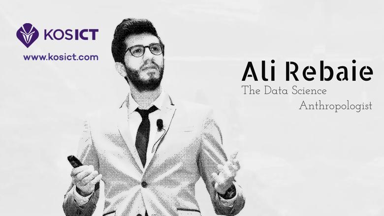 Shkenctari i të dhënave kompjuterike – Ali Rebaie po vjen në KosICT (Foto)