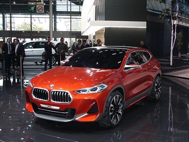 Koncepti i BMW X2 që do të konkurrojë me Mercedes GLA foto 10