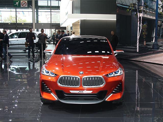 Koncepti i BMW X2 që do të konkurrojë me Mercedes GLA foto 2