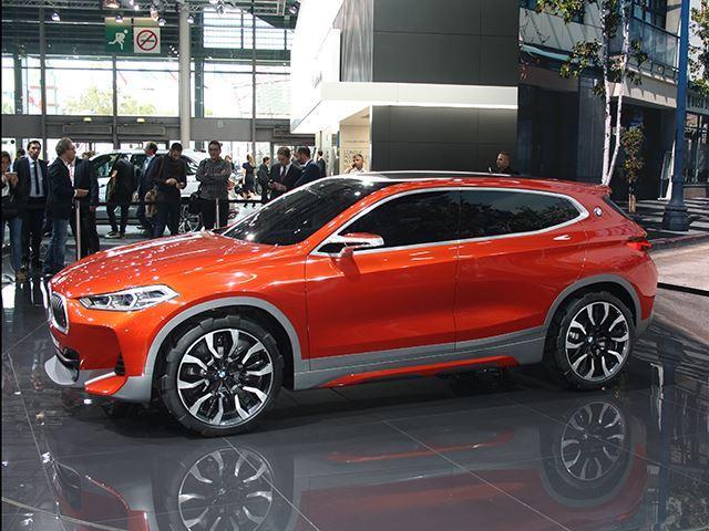 Koncepti i BMW X2 që do të konkurrojë me Mercedes GLA foto 3