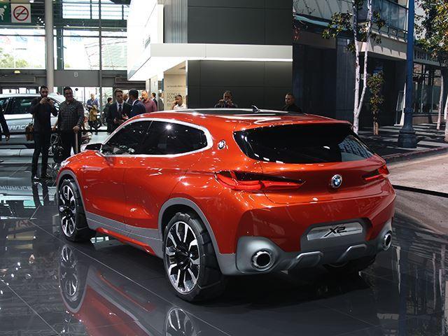 Koncepti i BMW X2 që do të konkurrojë me Mercedes GLA foto 5