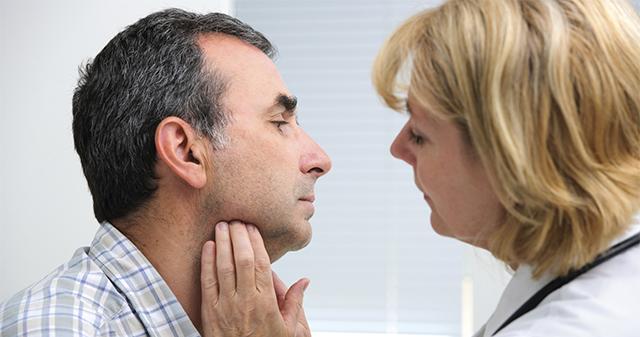 thyroid function examination