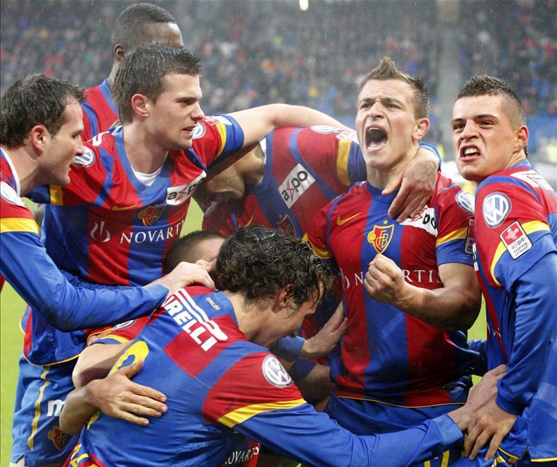 Baseli i disa viteve më parë, pjesë e kësaj skuadre ishte edhe dyshja Xhaka-Shaqiri.