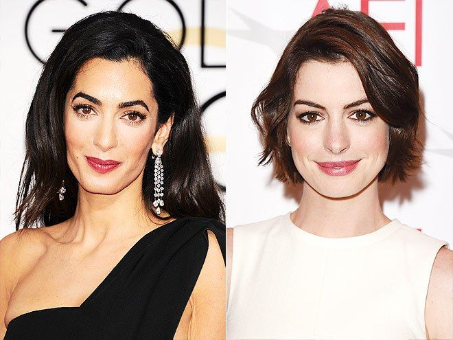 Amal Clooney dhe Anne Hathaway