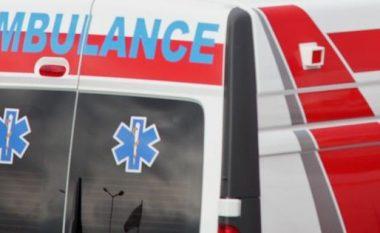 Ambulanca në xhami! (Video)
