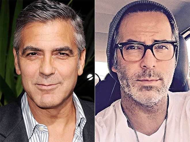 George Clooney dhe Guillermo Zapata